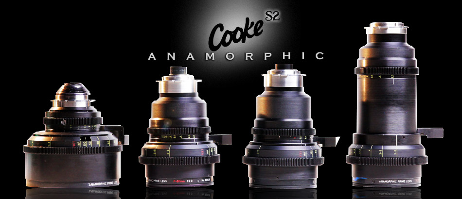 Cooke S2 Anamorphic Lens Set Rentals from Old School Cameras